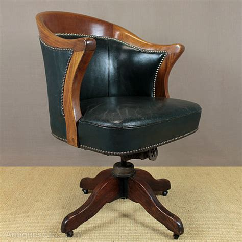 vintage leather desk chair antiques atlas