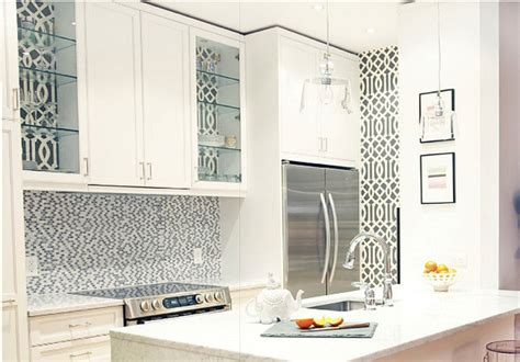contemporary kitchen wallpaper geometria w kuchni halo domy pl 2526