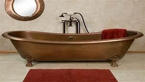 6 Foot Bathtub Copper Double Slipper Clawfoot Tub