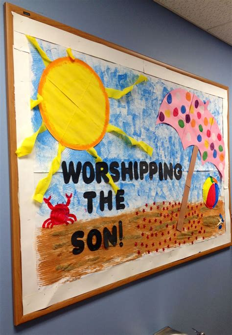 worshipping the quot quot christian daycare bulletin board 445 | 95492c0a21ddf5a6a037eaab4ec04396