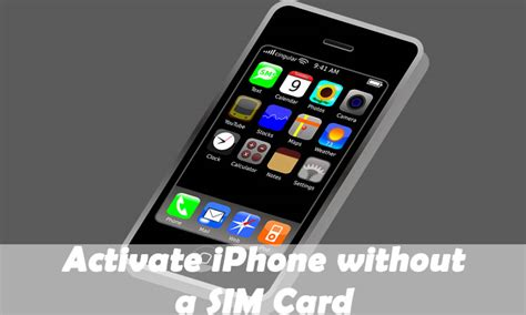 how to activate iphone without sim how to bypass sim activation on iphone