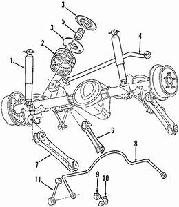 Rear Suspension For 2005 Jeep Wrangler