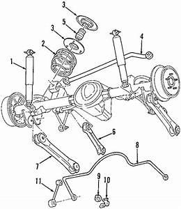 Rear Suspension For 2005 Jeep Wrangler