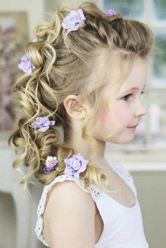 cute girls hairstyles    princess