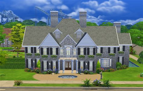 Sims Building A Mansion by Stepford Mansion Sims