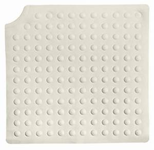 tapis de douche carre antiderapant 54 cm herdegen With tapis antidérapant douche italienne