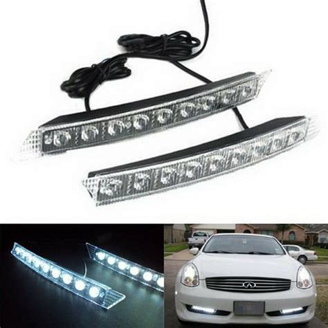 99 Audi A6 Wiring Light by Audi A6 Q7 Style 9 Led Led Daytime Running Lights