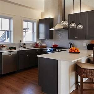 22, Grey, Kitchen, Cabinets, Designs, Decorating, Ideas
