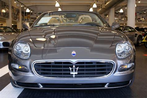 Maserati Of San Francisco by 2005 Maserati Spyder Cambiocorsa Stock 140810 For Sale
