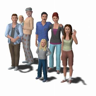 Sims Transparent Families Sim Wikia Similar Pngall