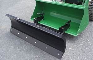 New Loader Bucket Mounted Snow Plow 60 U0026quot