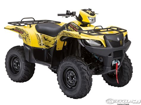 Suzuki Kingquad by 2012 Suzuki Atv Models Photos Motorcycle Usa