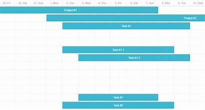Dhtmlx Gantt Tasks Chart Multiple Decimal Formatting