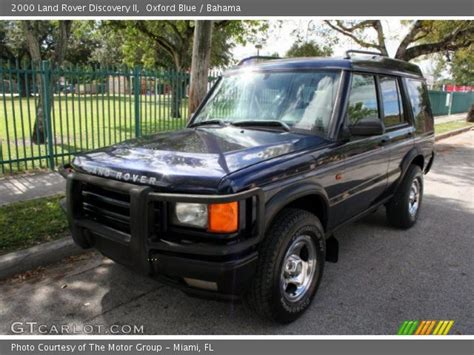 blue land rover discovery oxford blue 2000 land rover discovery ii bahama