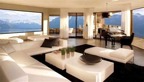 Stylish Home Interiors - intérieurs contemporains luxury house design