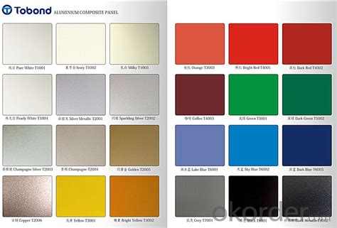tobond pvdf pe alucobest cladding panel real time quotes