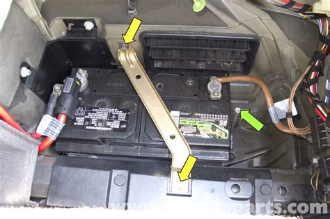 Bmw E39 5-series Battery Replacement