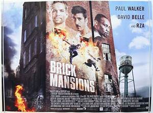 Brick Mansions - Original Cinema Movie Poster From ...