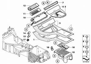 Bmw X5 Center Console Insert  Centre  Body  Armrest  Trim