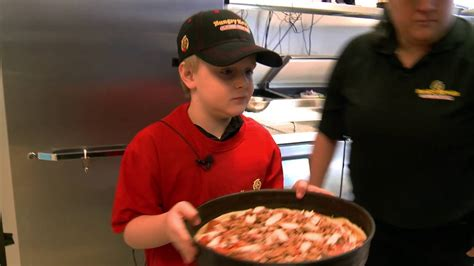 hungry howies garden city hungry howies 8 year aidan wants to be a pizza maker