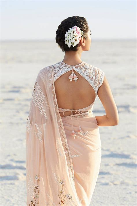 Blouse Back Neck Designs For Silk Sarees Images For ...