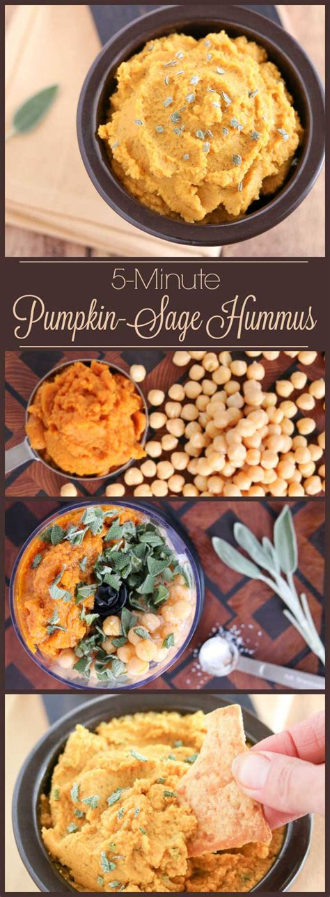 5 minute savory pumpkin hummus with fresh two healthy kitchens