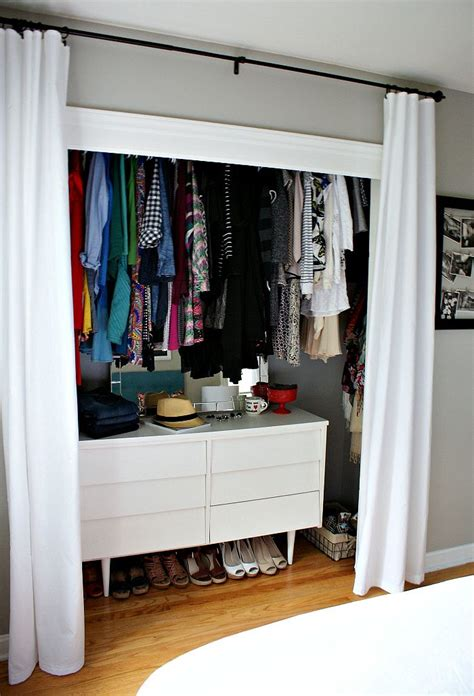 Closet Cover Options by 9 Clever Ways To Conquer Your Cred Closet Cleaning