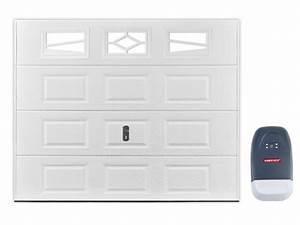 porte de garage sectionnelle a cassette aslan avec fenetres With porte de garage a cassette
