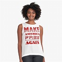 'Make America free again ' Sleeveless Top by Md1982 in ...