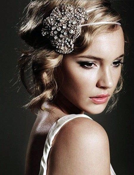 Roaring 20s Hairstyle by Roaring 20s Wedding Hair Midlength Hairstyles