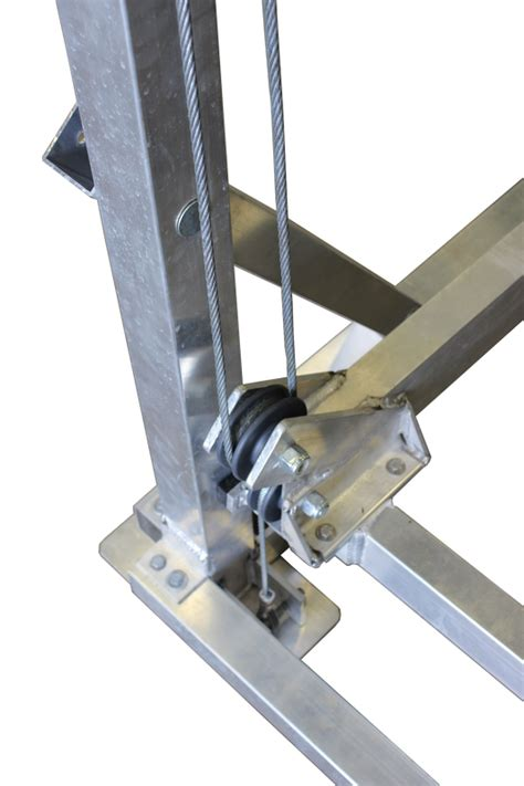 Vertical Boat Lift Cable Routing by Shoreline Industries Vertical Lifts