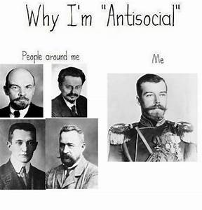 Funny Antisocial People Memes of 2017 on me.me | Antisociable
