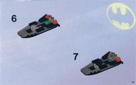 Lego Batman Boat Instructions by Instructions For 7780 1 The Batboat Hunt For Killer