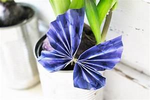 Schmetterlinge Aus Papier : falt schmetterlinge aus papier annefaktur ~ Lizthompson.info Haus und Dekorationen