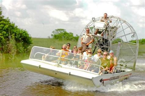 Fan Boat Ride Miami by Airboat Rides Airboat Rides Eco Adventure Tour