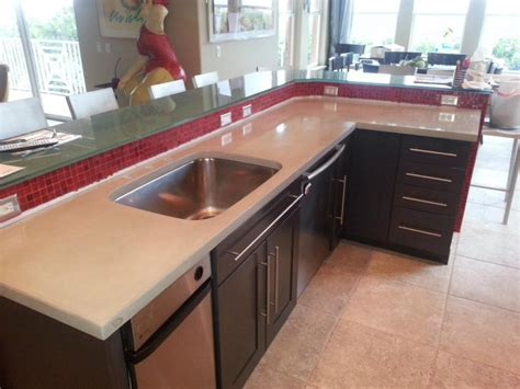 Kitchen : Magnificent Concrete Countertops For Your Top