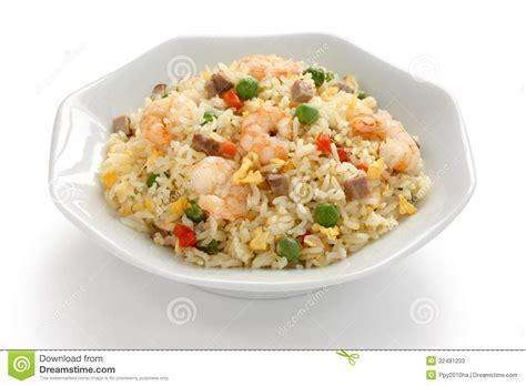 rice cuisine fried rice cuisine yangzhou style stock image
