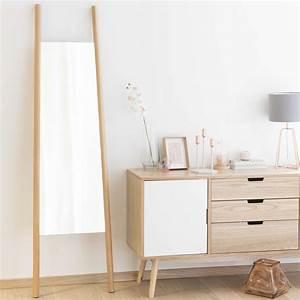 Miroir 180 Cm : miroir en bois h 180 cm eriksen maisons du monde ~ Teatrodelosmanantiales.com Idées de Décoration