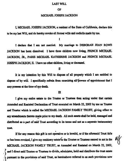printable    testament form generic