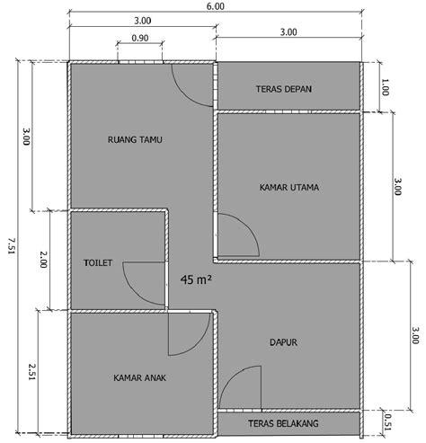 gambar desain rumah minimalis ukuran   lantai terbaru