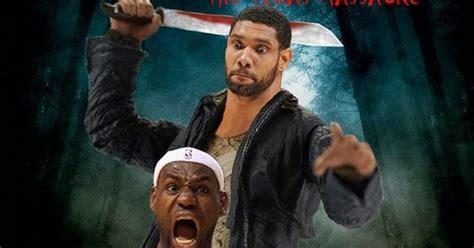 spurs  heat nba finals game  june   funny
