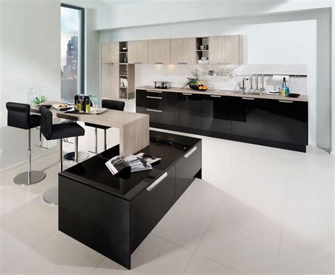 black gloss kitchen ideas black kitchen design country home black kitchen