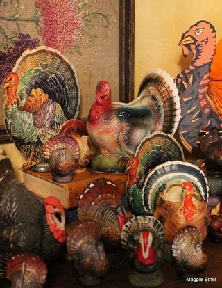 vintage thanksgiving decorations thanksgiving is always overlooked i think i found the perfect decoration a collection of