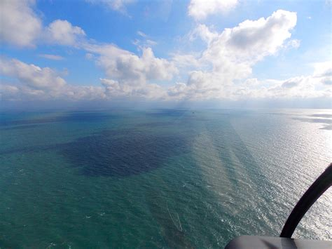 VIEW FROM THE HELICOPTER | Diamond Shoals Light Station