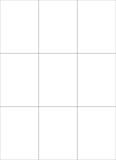 blank printable game cards board game