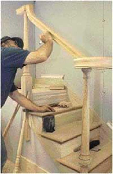 installing    post handrail part ii jlc