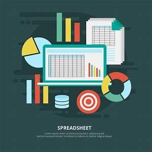 Types Of Rna Chart Spreadsheet Vector Illustration Download Free Vectors