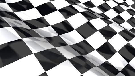 Checkered Background Checkered Racing Flag Seamless Loop Animation Motion