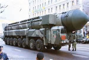 Russia Nuclear Missiles Parade