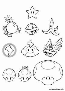 Mario, Ausmalbilder